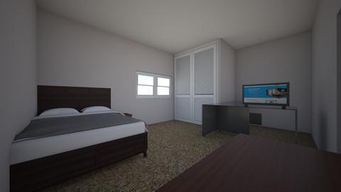 Bedroom - Minimal - Bedroom  - by connorhansen