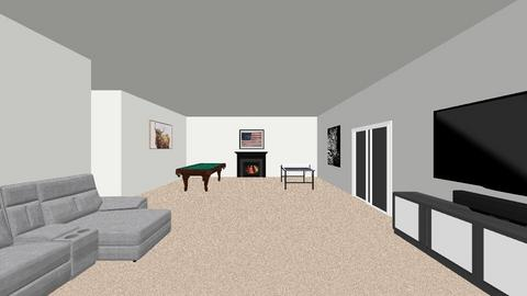 Blakes dream basement - Modern - by blakeschenkelberg