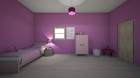 pink island - Kids room  - by deleted_1603149910_licorice123