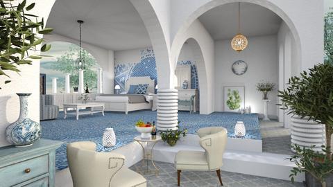 M_Greece dream - Bedroom  - by milyca8