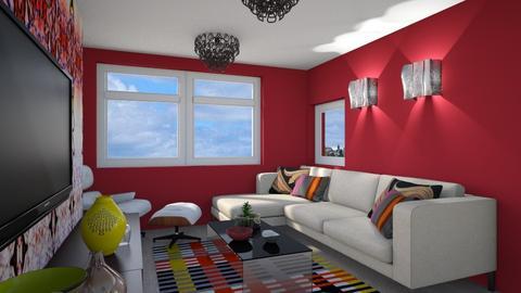 living room 1 - Modern - Living room  - by macus