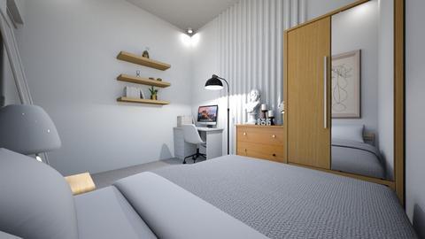 minimalist bedroom 1 - Minimal - Bedroom  - by dindin01
