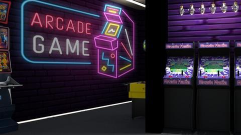 Fun Gaming Room - by Ari_adnos