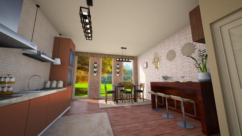 Template room - Modern - Kitchen  - by zayneb_17