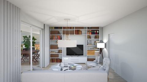 ottavo sol 3 secondo sogg - Living room - by gloria marietti