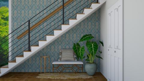 turquoise Hallway - by rebsrebsmmg