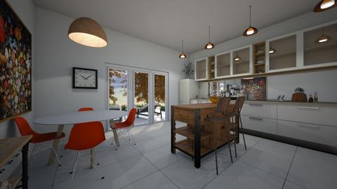 autumn kitchen - Kitchen  - by freewillie