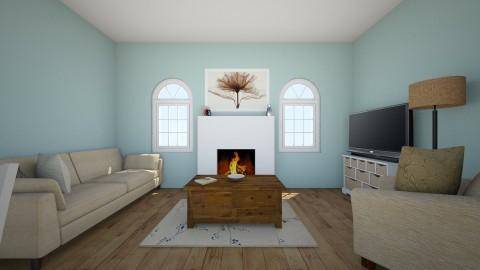 Blue Apartment - by mollyymaryy