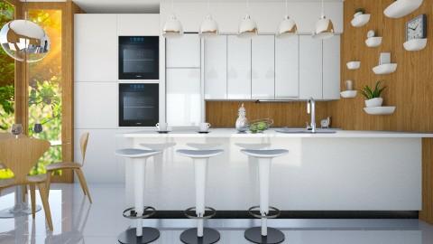 Maier Kitchen - Modern - Kitchen  - by Liu Kovac