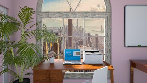 Playful office - Office  - by Alexis and Natalie