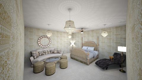 jk  - Vintage - Bedroom  - by kellynazha