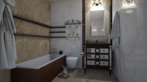 luk_b_3 - Retro - Bathroom  - by Aeea P