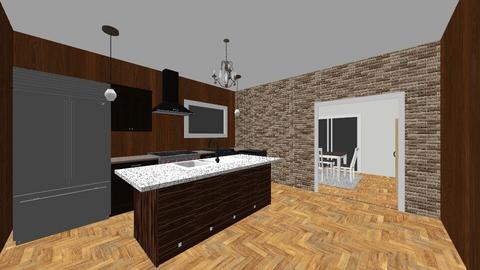 Dream kitchen - Modern - Kitchen  - by Daemon P