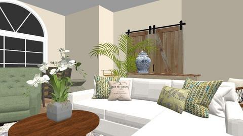 Floral Home - Modern - Living room  - by LittleEponine