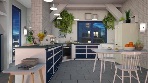 Herb_Kitchen - Kitchen  - by ZuzanaDesign
