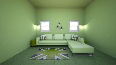 Green room - by jennatuttle