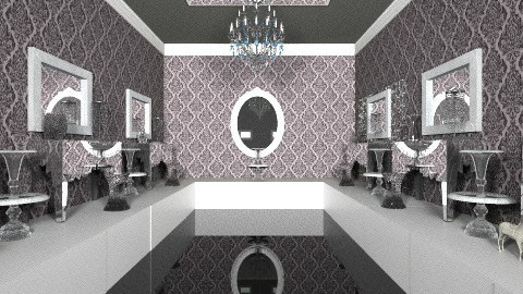 Dark Horse - Eclectic - Bathroom  - by HGranger2