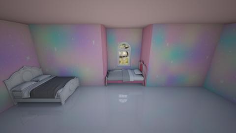 A royal space for Melinda - Modern - Bedroom  - by Hafsabashir