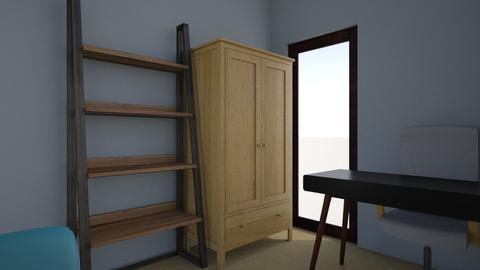 Study Spare Bedroom - Vintage - Office  - by anthonykcma