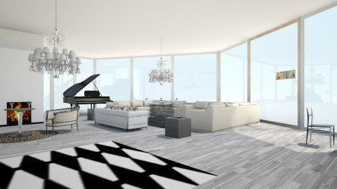 LIVING ROOM  - Living room - by danielarias100