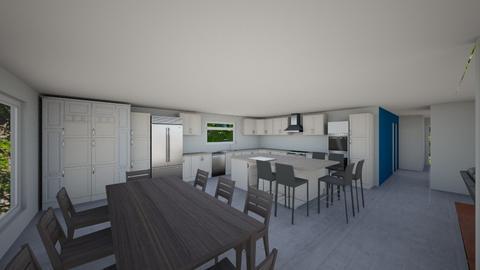 Kitchen Plan 13 - Modern - Kitchen  - by Marco DR