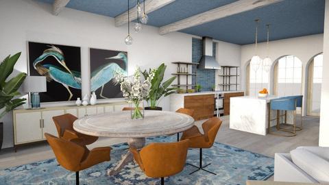 Modern Greek Dining Room - Dining room  - by jjp513