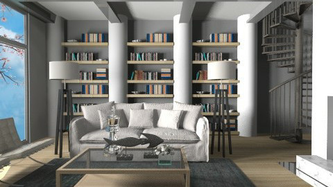 Place for meee RMX - Modern - Living room  - by 3rdfloor