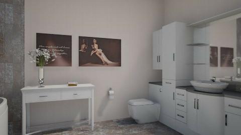 For Griz7674 2 - Eclectic - Bathroom - by Theadora