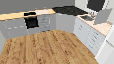 Kitchen 2 - Retro - Kitchen  - by BoazHarrosh