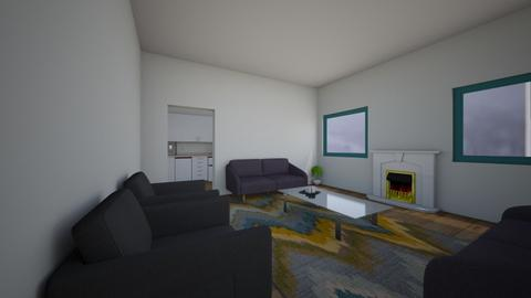 modern living - Living room  - by XenaChico