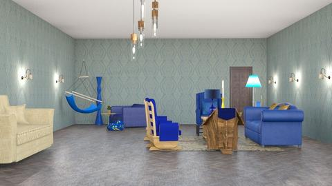 Raven - Living room  - by ksmKOSARA