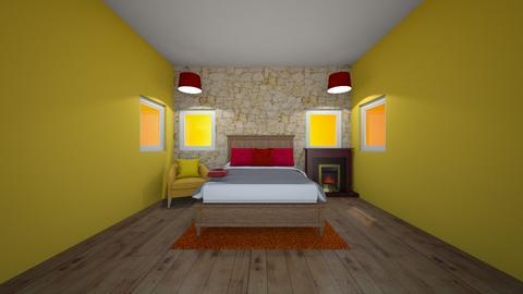 Sun Bedroom - Bedroom  - by Hersheys