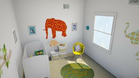 Rachel Bridge - Eclectic - Kids room  - by rachelbbridge
