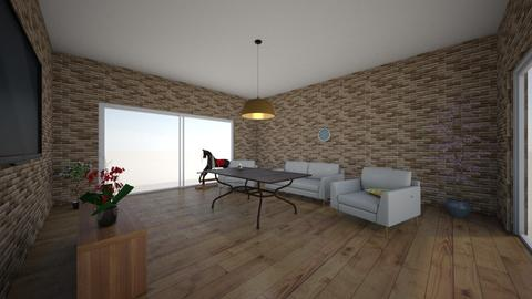 room - Living room  - by asalazar07