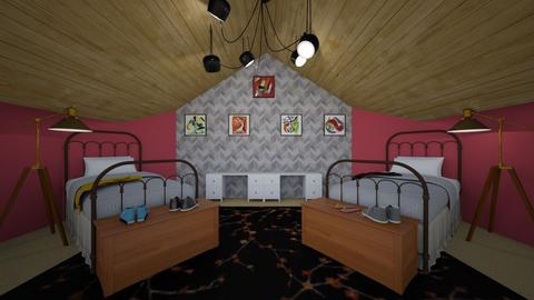 Twins - Global - Kids room  - by designkitty31