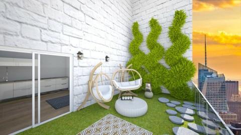 Modern Patio - Minimal - Garden  - by kennyhollis99