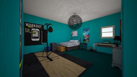 big boy room - Bedroom  - by Raine Malloy