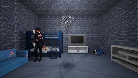 little boys room - Bedroom - by Jojothegreat