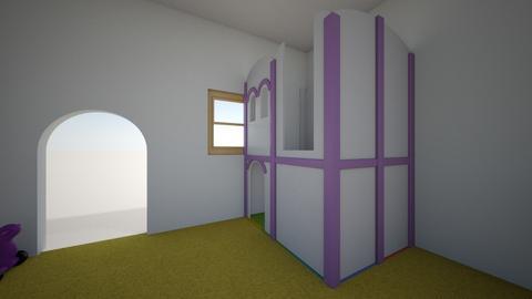 habitacion - Kids room  - by Pilarluna2709