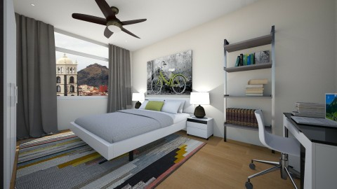 For Conchy IIe - Eclectic - Bedroom  - by Theadora