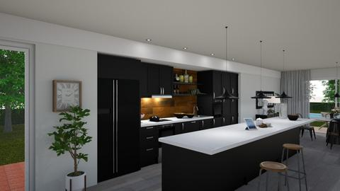 Leiria - Modern - Kitchen - by Claudia Correia