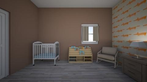 Katelyn LeBlanc  - Kids room  - by kathleengriffin