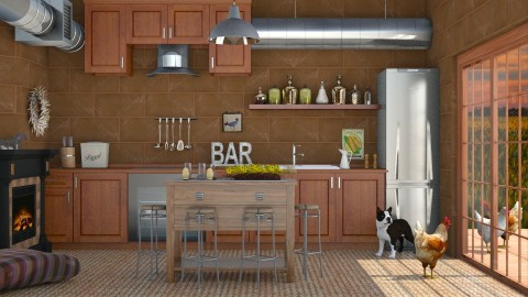 Surprise - Classic - Kitchen  - by Liu Kovac