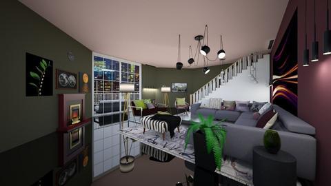 Living in New York - Modern - Living room  - by Feeny