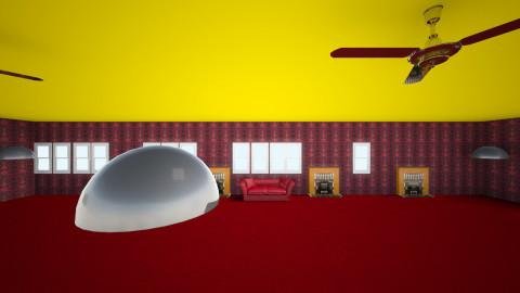 Camp Room - Vintage - Bedroom  - by Morasia Thomas