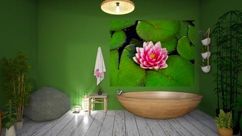 Lily Pad - Modern - Bathroom  - by CitrusSunrise