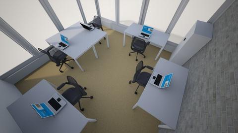 office 8_06 new situatio2 - Modern - Office - by twagoo