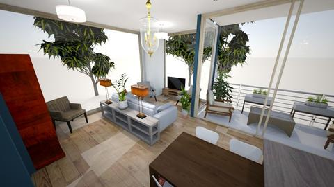 from kitchen to living - Living room  - by condo1234