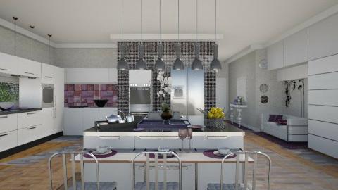 New kitchen2 - Modern - Kitchen  - by milyca8