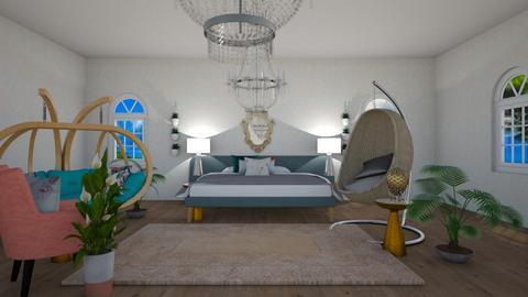 Plant Bedroom - Bedroom - by bryangra000